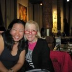 2015 April BOOM Smiling Alice and Margie Dushanbe