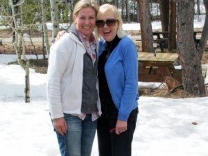 Margie and Kristin Meachem from Australia