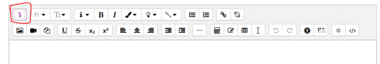 editor icons screenshot