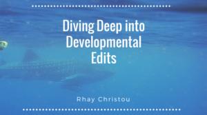 Diving Deep into Developmental Edits - whale under water
