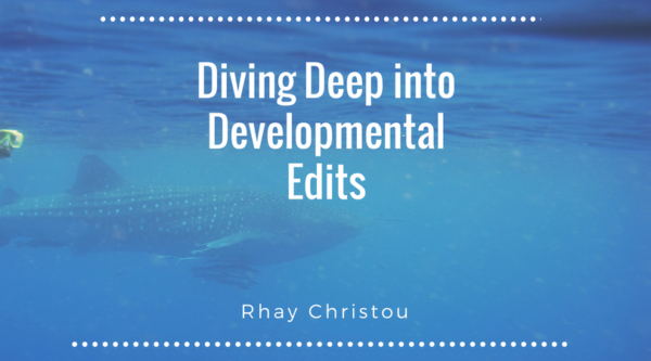 Diving Deep into Developmental Edits - whale under water