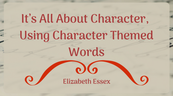 It's All About Character, Using Character Themed Words(2)