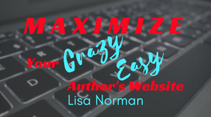 Maximize your Author Website