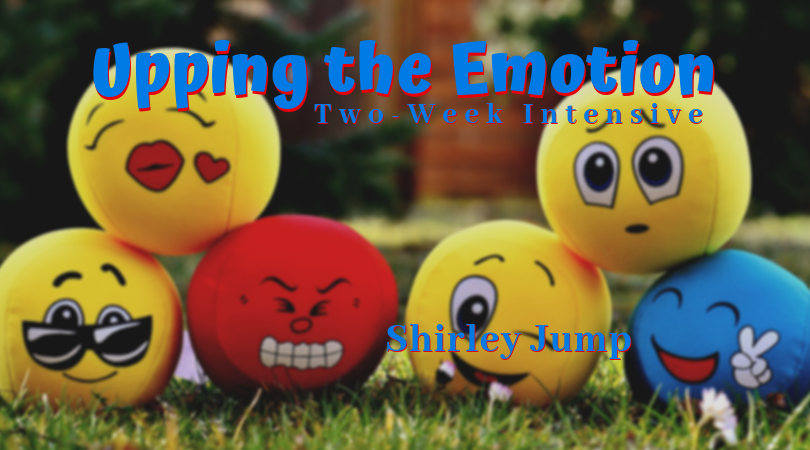 Emotional faces stacked - Upping the Emotion Intensive
