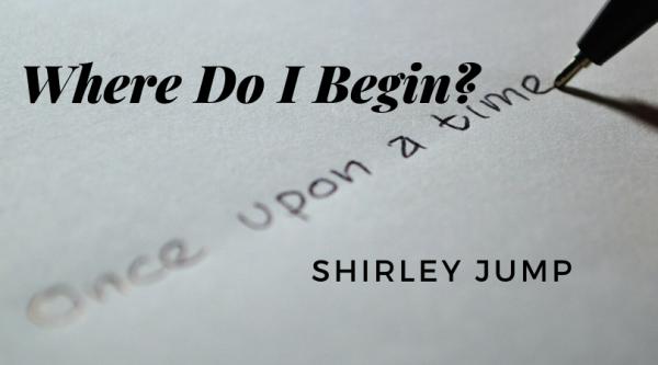 Where do I begin - with Shirley Jump