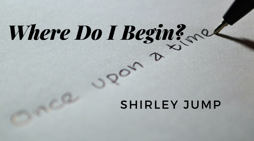 Where do I begin - with Shirley Jump