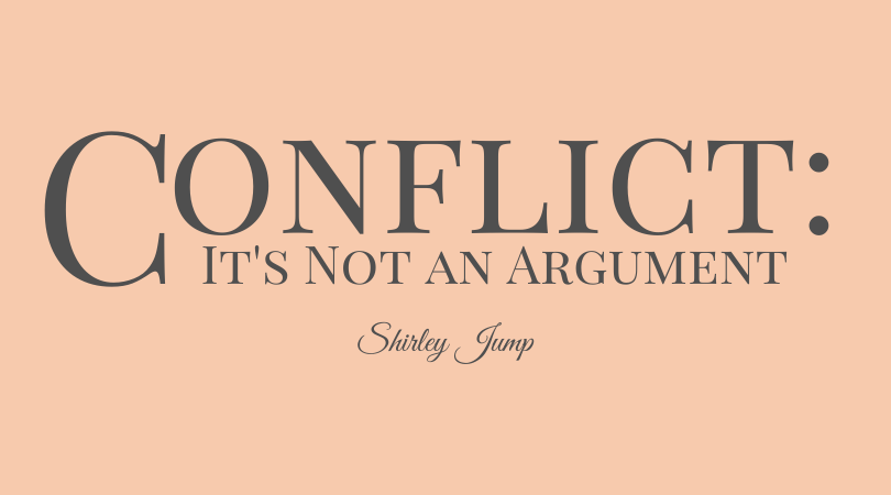 Conflict - It's Not an Argument - with Shirley Jump