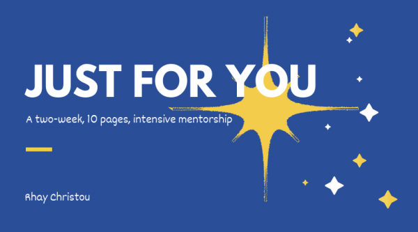 Just for You Mentorship - Rhay Christou