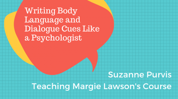 Suzanne Purvis teaching Margie Lawson's Writing Body Language and Dialogue Cues like a Psychologist