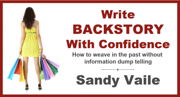 Write Backstory with Confidence with Sandy Vaile