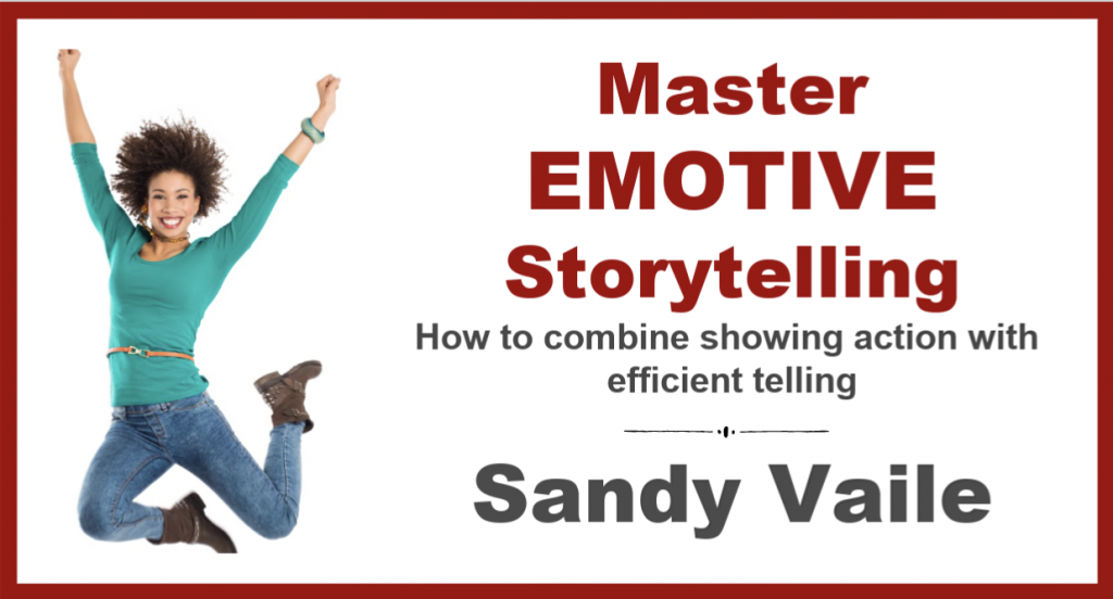 Master Emotive Storytelling with Sandy Vaile