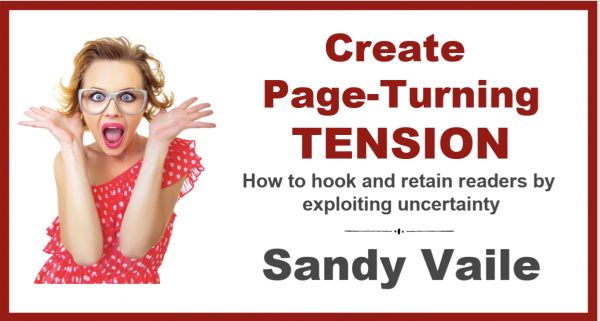Create Page-Turning Tension with Sandy Vaile