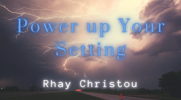 Power Up Your Setting with Rhay Christou - lightning hitting a road