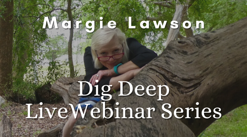 Margie Lawson's Dig Deep Live Webinar Series