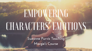 Empowering Characters Emotions with Suzanne Purvis teaching Margie Lawson's course