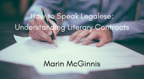 How to Speak Legalese with Marin McGinnis - person signing contract