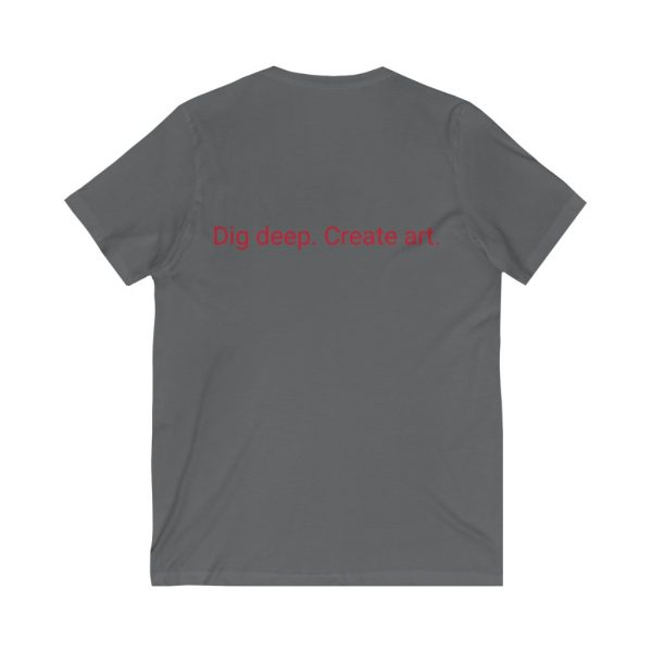 Unisex Jersey Short Sleeve V-Neck Tee 10