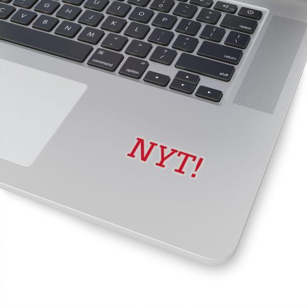 NYT Kiss-Cut Stickers 1