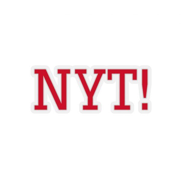 NYT Kiss-Cut Stickers 2