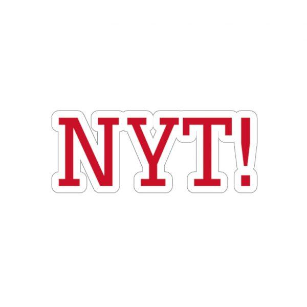 NYT Kiss-Cut Stickers 3